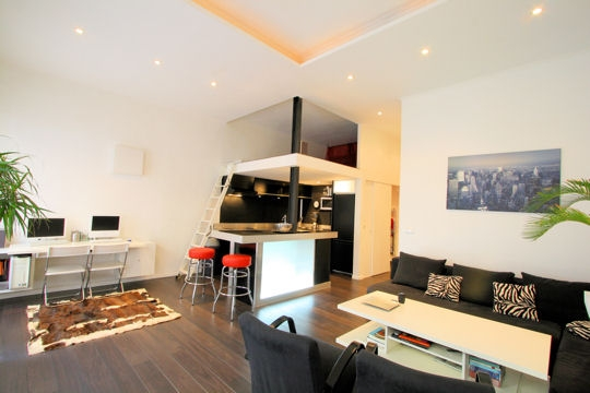 Un mini appartement marseille planete deco a homes world - Deco appartement petite surface ...