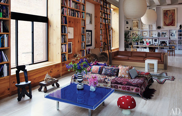 Loft Boheme A Manhattan Planete Deco A Homes World