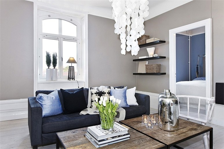 un rve bleu gris en sude planete deco a homes world - Deco Salon Bleu Gris
