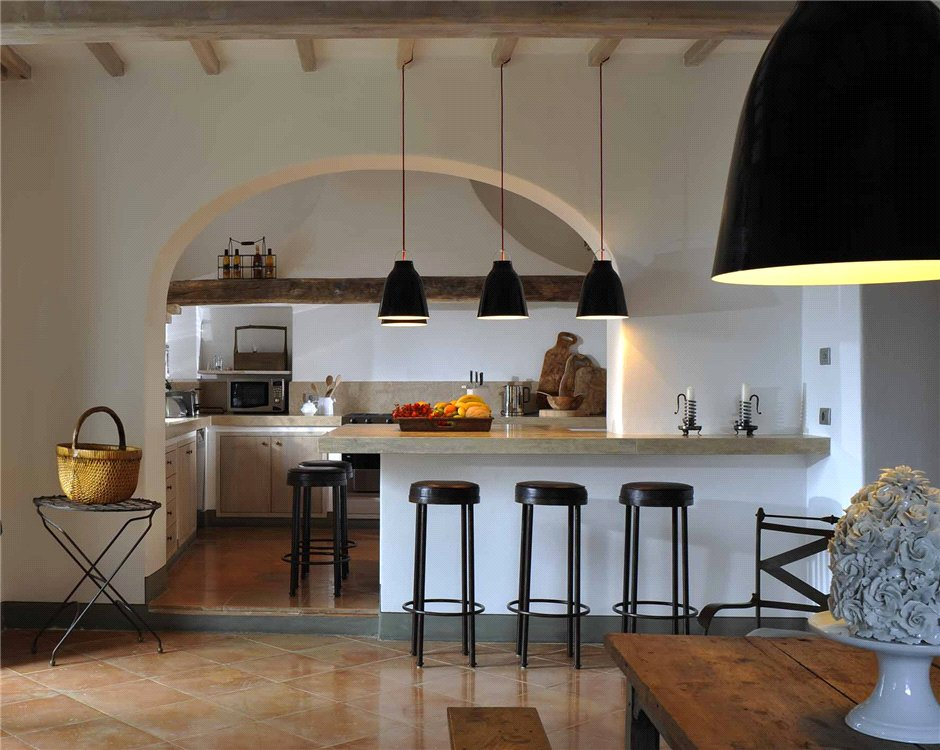 Entre la toscane et l 39 ombrie planete deco a homes world for Decoration maison italienne