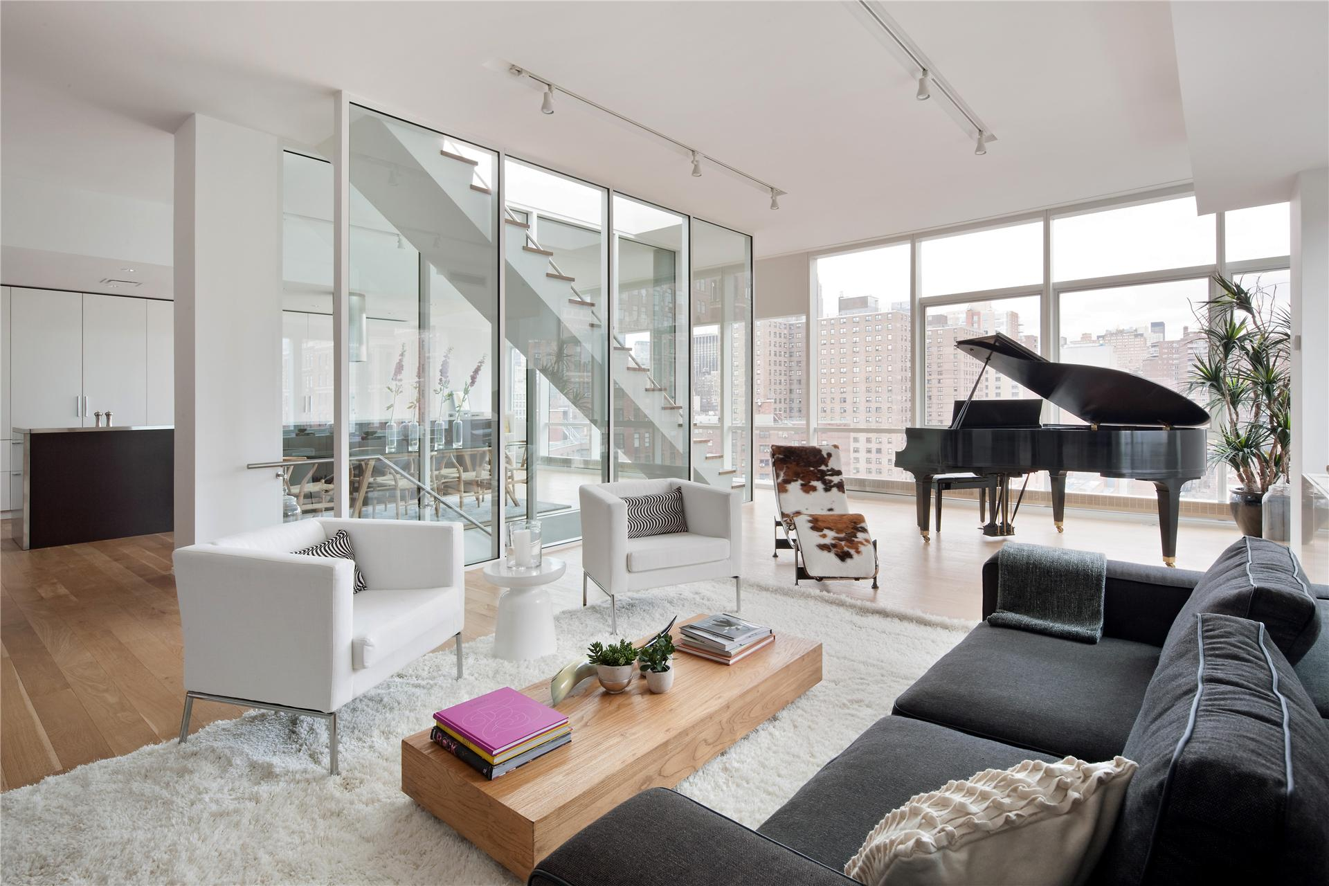 Un duplex new york planete deco a homes world - Deco maison appartement en duplex widawscy ...