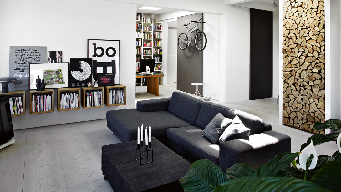 Regardsetmaisons un int rieur une couleur le noir for Deco appartement en l