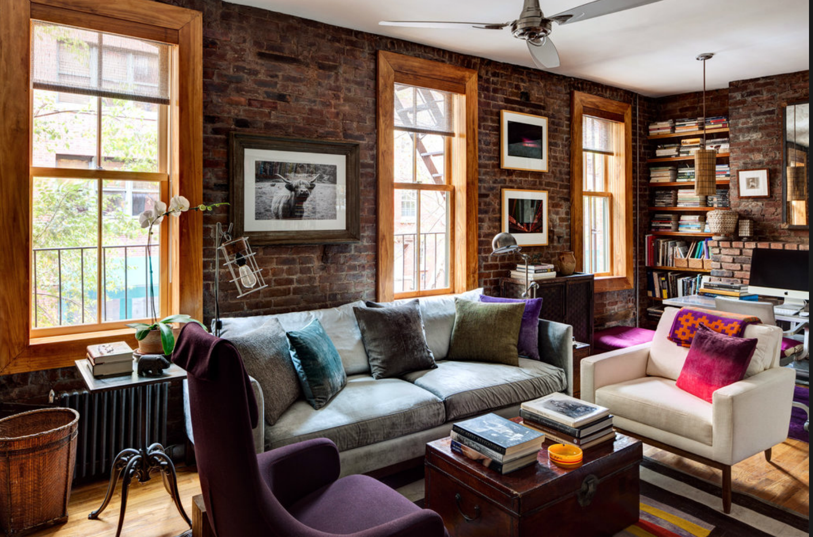 Un refuge rustique dans le west village planete deco a - Deco appartement new york ...