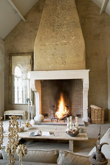 Cheminees fireplaces on Pinterest  Fireplaces, Stone Fireplaces and ...