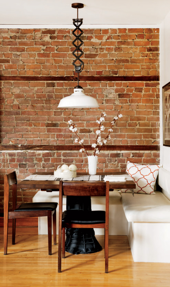 Brick on pinterest exposed brick brick walls and for Meuble chez brick sherbrooke