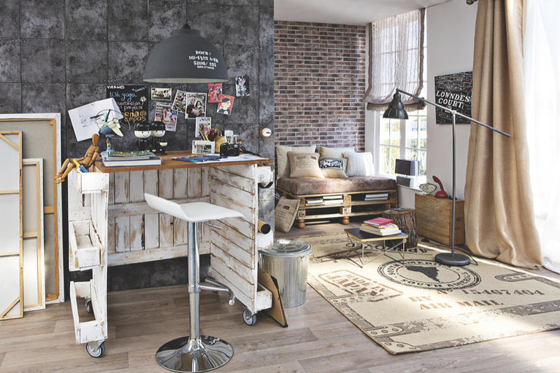un bureau de r cup planete deco a homes world. Black Bedroom Furniture Sets. Home Design Ideas
