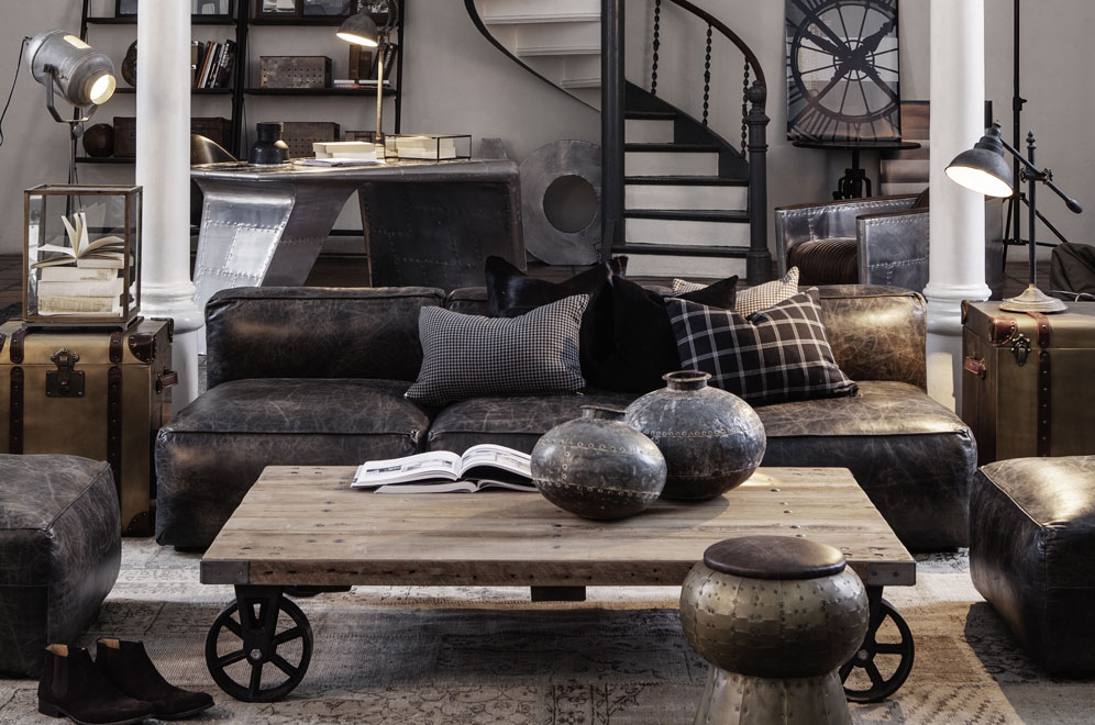 ambiance club anglais et bord de mer - planete deco a homes world