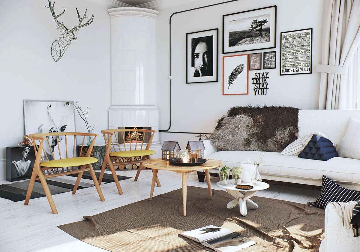 Le Style Scandinave Vu De L Inde Planete Deco A Homes World