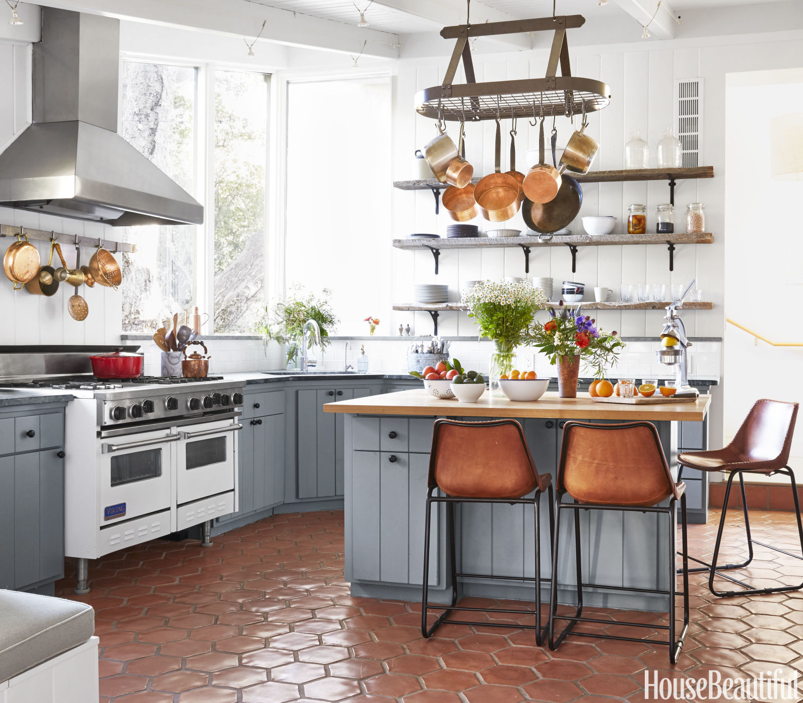 Kitchen Interior Design Styles: Une Maison De Rêve Influencée Par L'Europe En Californie