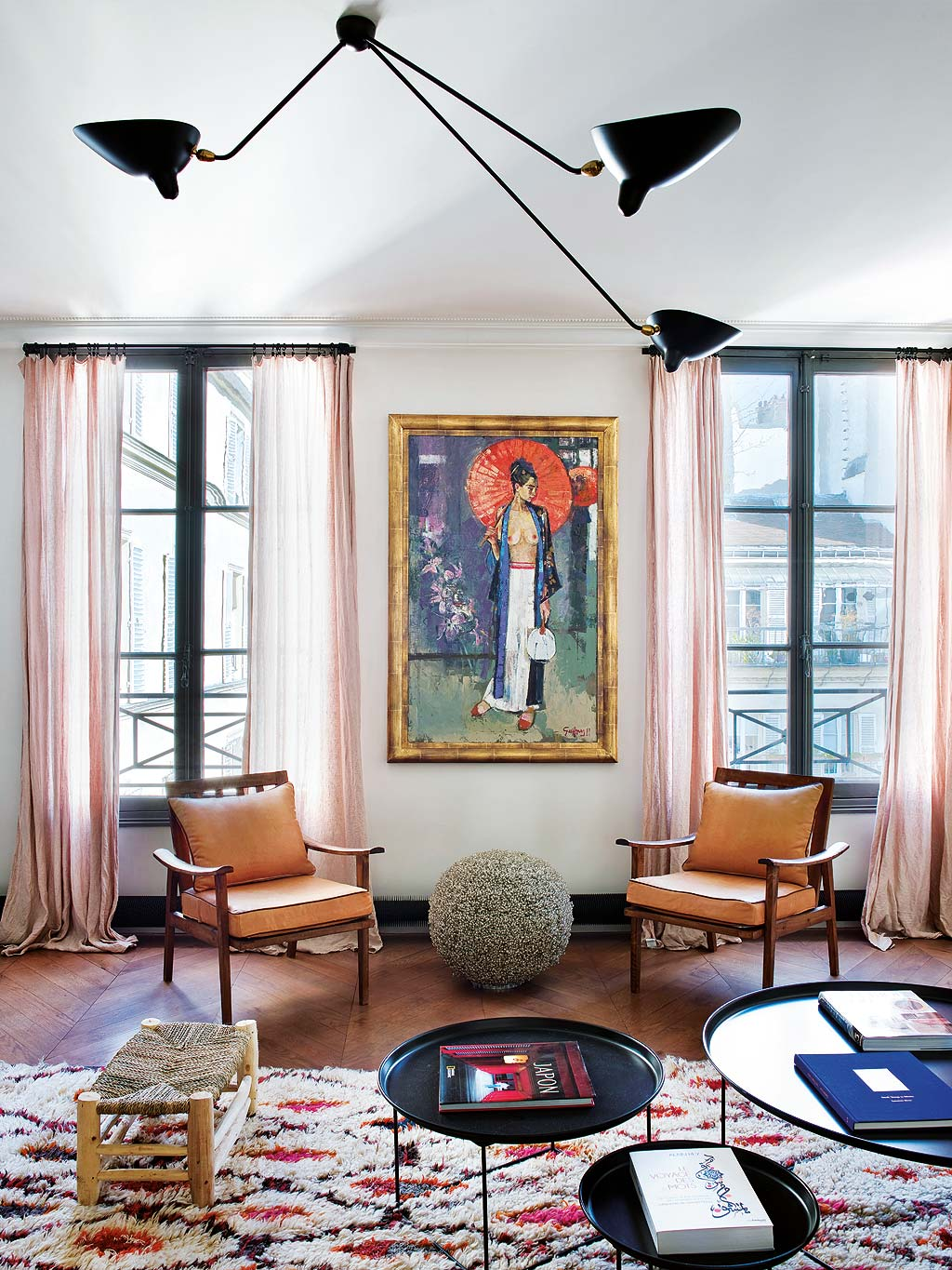 A paris un appartement classique au look boh me planete for Decoration maison boheme