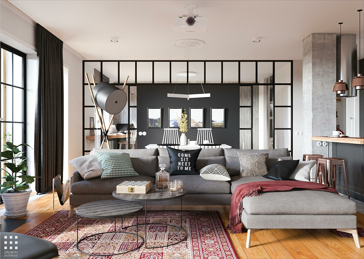 D co masculine archives planete deco a homes world for Decoration appartement masculin