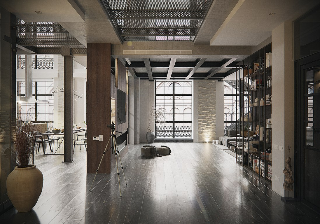 Un loft industriel new york planete deco a homes world for Loft new york affitto