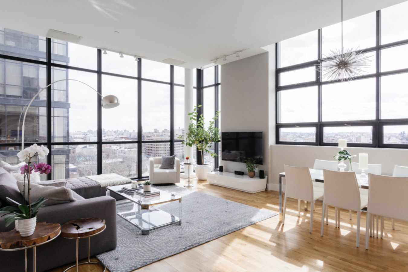 Un appartement brooklyn heights planete deco a homes world - Appartement new york brooklyn ...