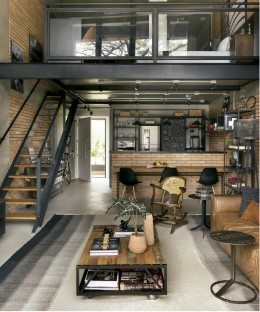 Style industriel s o paulo planete deco a homes world for Deco appartement olivia pope