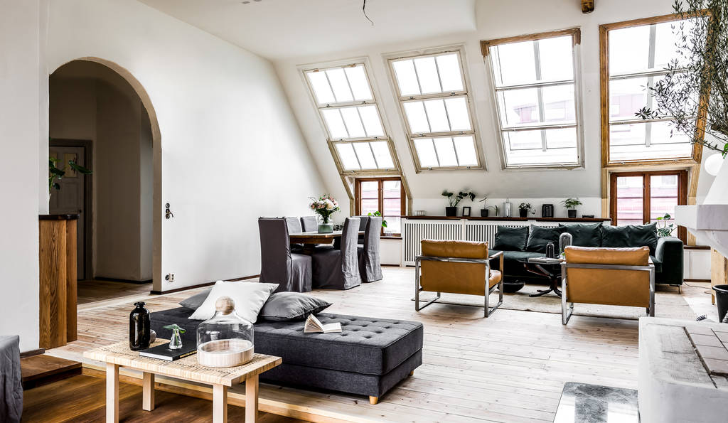 Le charme des appartements sous combles - PLANETE DECO a homes world