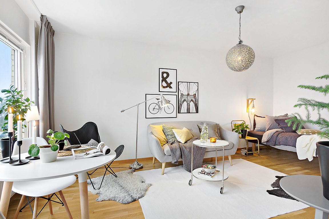 Stunning Salon Moderne Petite Surface Pictures - Awesome Interior ...