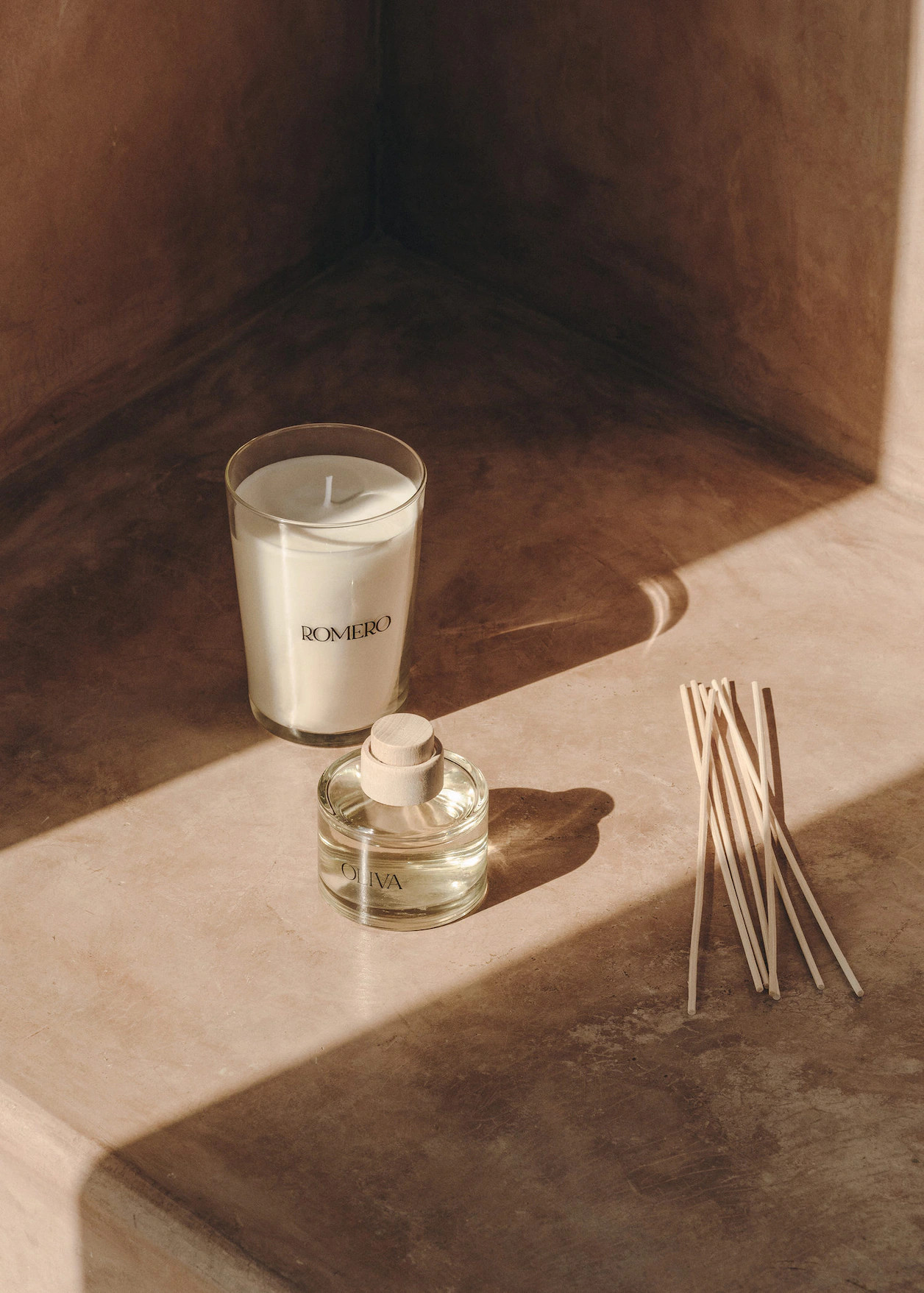 bougie romarin nouvelle collection Mango Home