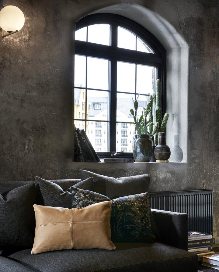 salon décoration design appartement Norvège
