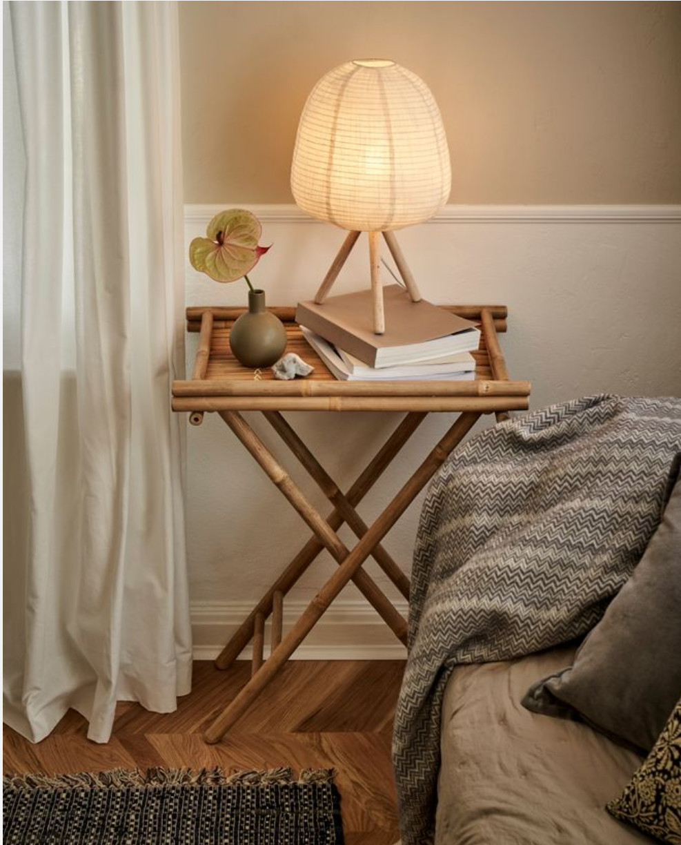 table d'appoint bambou